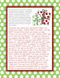 gift exchange story free printable i u0027ve done this at white