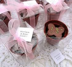 flower seed wedding favors flower seed butterfly wedding favors bridal shower favors