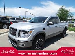 nissan blue truck new nissan titan for sale denver lease u0026 finance specials