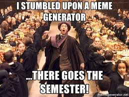 Harry Potter Meme Generator - i stumbled upon a meme generator there goes the semester troll