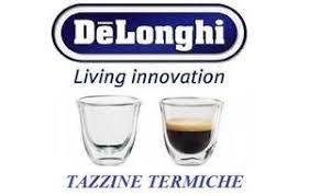 bicchieri termici de longhi set 2 bicchieri termici per caffe thermocup 60 ml