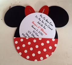 minnie mouse birthday invitations diy images invitation design ideas