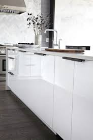 white contemporary kitchen cabinets gloss cabinet hardware white modern kitchen modern kitchen