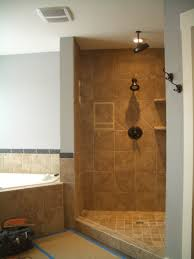 Open Shower Bathroom Bathroom Explore The Options With Open Shower Ideas Walk Shower