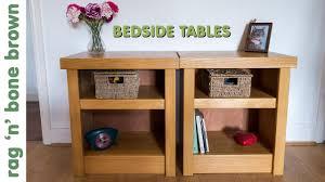 Oak Bedside Tables Oak Bedside Tables Youtube