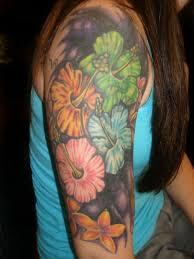 10 hawaiian flower tattoos