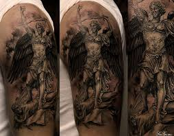 7 best archangel michael tattoos for men images on pinterest