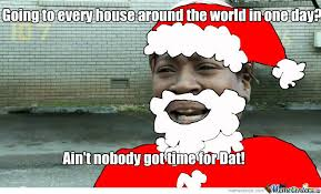 Santa Meme - black santa by puffy mushroom meme center