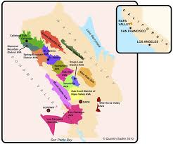 california map napa ward on wine wine class series the diversity of napa
