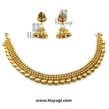 necklace elegant images Short golden necklace elegant simple set hayagi jpg