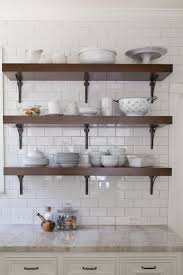 Open Cabinets Kitchen Ideas 52 Best Kitchen Open Shelving Images On Pinterest Open Shelving