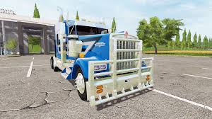 w900l kenworth w900l for farming simulator 2017