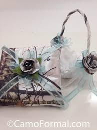 realtree camo ribbon camo pillow with and organza wedding