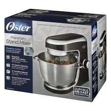 Kitchen Stand Mixer by Oster Planetary Stand Mixer Fpstsmpl1 Black Walmart Com