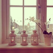 extermely beautiful candles glass holders for window sill decor