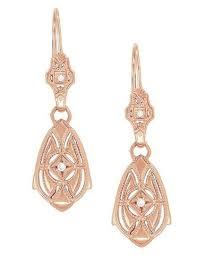 vintage earrings vintage silver earrings antique sterling silver earrings