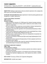 Examples Of Warehouse Resumes by Example Of Reverse Assistant Resume Http Exampleresumecv Org