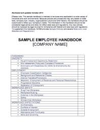 download employee handbook templates with sample pdf rtf fill