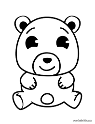 printable bear coloring pages for kids gummy page animal panda