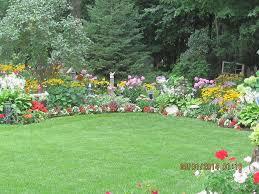 gorgeous backyard garden in full bloom hometalk
