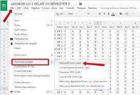 langkah membuat google form cara mengolah jawaban ulangan online google form dengan spreadsheet