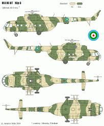 Wings Palette Mil Mi 2 by Wings Palette Mil Mi 8 Mi 17 Mi 18 Hip Djibouti