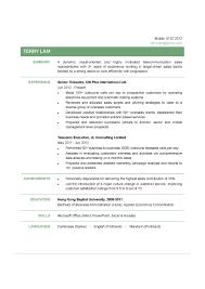 Resume For Sales Representative Telesales Cv Ctgoodjobs Powered By Career Times