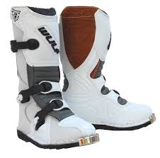 boys motocross boots wulfsport cub la junior kids leather motocross boots eu 33 uk 1