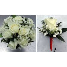 white corsages for prom flowers boutonnieres corsages prom specialty kremp