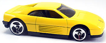 ferrari yellow interior ferrari 348 72mm 1991 wheels newsletter