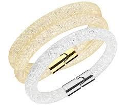swarovski silver crystal bracelet images Swarovski gold and silver crystal bracelet blashouse boutique jpg