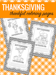 free thanksgiving coloring pages lil