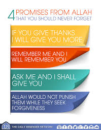 benefits of thanksgiving to god 4 promises from allah that you should never forget 1 u0027if you
