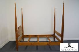 tom seely solid pine full size four poster bed ebay