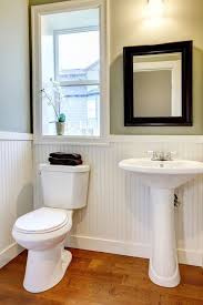 Martha Stewart Bathrooms Contemporary Powder Room With Pedestal Sink By Home Stratosphere