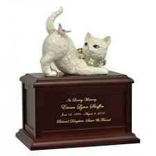 cat urn cat and butterfly companion urn in the light urns