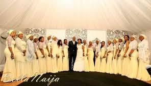 wedding in pictures from a glamorous wedding in northern nigeria events