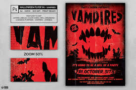 blank halloween flyer background halloween flyer template v4 by thats design store thehungryjpeg com