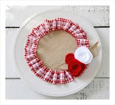 Valentine S Day Wall Decor by A Valentine U0027s Craft In Burlap And Ruffles Fox Hollow Cottage