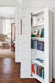 White Cottage Bookcase by See How One Designer Moved Back Home To Build Her Dream Cottage