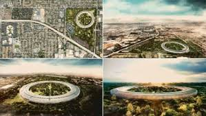 New Apple Headquarters Steve Jobs Presents Plans For Apple U0027s Impressive Massive And