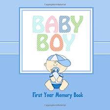 baby boy memory book baby boy year memory book baby book keepsake and scrapbook
