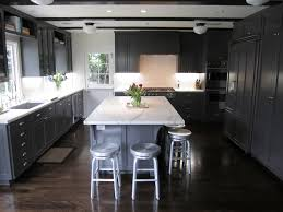 grey kitchen cabinets wood floor gray kitchen cabinets with white marble countertops contemporary