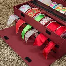 ribbon storage christmas world