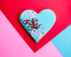 color inspiration heart sugar cookies for valentine u0027s day