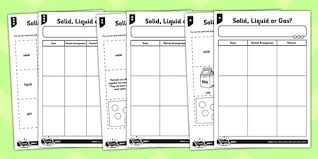 Solid Liquid Gas Periodic Table Solids Liquids Gases Worksheets Worksheets