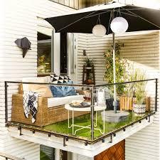 canapé balcon 101 idées déco aménagement pour un petit balcon