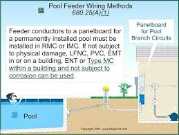 swimming pool electrical wiring transformer for pool light above