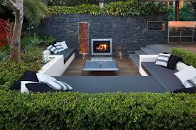 Backyard Ideas For Entertaining 15 Outdoor Conversation Pits Built For Entertaining Contemporist
