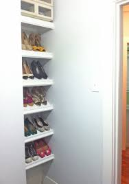 Ana White Designer Shoe Shelves On A Budget Diy Projects